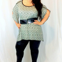 Curvy Collection Tunic Top