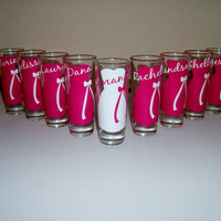 3 Wedding Glasses Personalized/Monogrammed by SimplySouthernCharms
