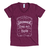 Government Elixir Triblend Ladies Track Shirt