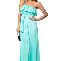 Spanish Mint Maxi Dress