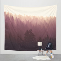 Chasing Light Wall Tapestry by Tordis Kayma