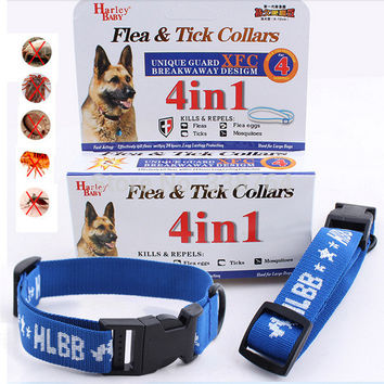 Hot Kill Flea & Tick Collar For Large Dog Cat Pet Supplies Product Adjustable For S L Large Small Dogs Cats Pets Puppies