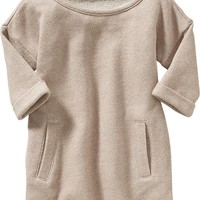 Old Navy Sparkle French Terry Tunic For Baby