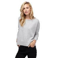 Wool Cashmere Boatneck Sweater