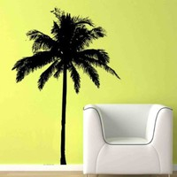 """Large Coconut Palm Tree Kid Bedroom Decor Wall Art Removable Home Decor Vinyl Decal Sticker 40"""" H x 27"""" W Sold By Decal Shop"""