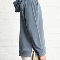 French Terry Knit Hoodie