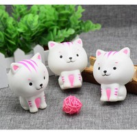 One Piece Little Milk Cat Squishy Squeezable Cute Healing Toy Kawaii Collection Funny Joke Little Gifts