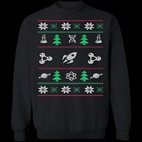 Science Ugly Christmas Sweater