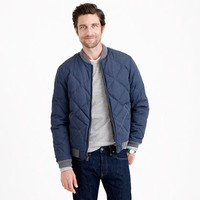 WALLACE & BARNES DOWN BOMBER JACKET