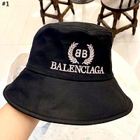 Balenciaga 2019 new gold standard embroidered cotton fisherman hat cap #1