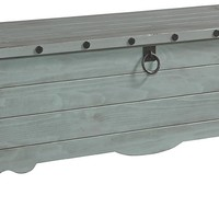 Jesse Casual Storage Trunk Mineral Gray