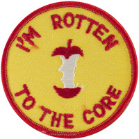 Patches For Everyone Iron-On Appliques-I'm Rotten To The Core at Joann.com