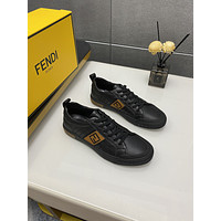 FENDI 2021 Men Fashion Boots fashionable Casual leather Breathable Sneakers Running Shoes06080cx