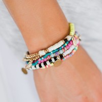 Pulse Perk- Colors of Spring Bracelet Set