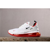 Newest Nike Air Max 720 White/ Red Running Shoes