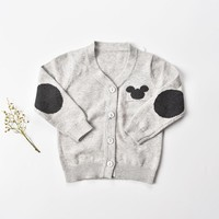 9-24M Sweater baby boy 2018 Winter baby boy clothes full sleeve cotton baby sweater shirts toddler cardigan newborn clothes