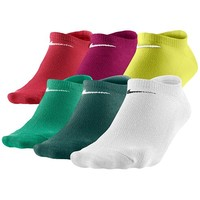 Nike 6PK Lightweight No Show Socks - Women's