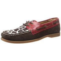 Ariat Womens Palisade Suede Printed Boat Shoes