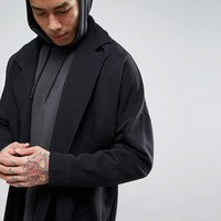 ASOS Extreme Oversized Longline Jersey Duster Coat at asos.com