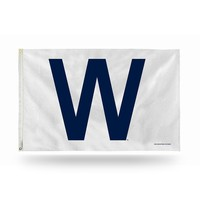Chicago Cubs MLB 3ft x 5ft Banner Flag (Cooperstown W)