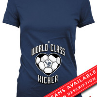 Soccer Pregnancy Announcement T Shirt Gifts For Expecting Mothers Soccer Shirts For Mom Pregnancy Reveal France Soccer Fan Ladies Tee MD-649