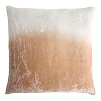 Nickel Dip Dyed Velvet Pillow by Kevin O'Brien Studio