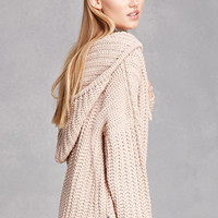 Hooded Dolman Sweater