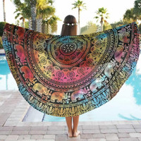 BOHO Throw 2017 Beach Throw, Wrap, Yoga Mat, Tapestry