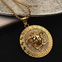 Shiny New Arrival Jewelry Gift Stylish Hot Sale Fashion Accessory Hip-hop Korean Couple Necklace [6544255747]