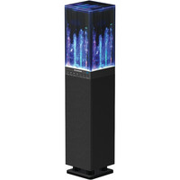SYLVANIA SP118-BLACK Water Dancing Bluetooth(R) Mini Tower Speaker