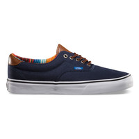 Vans C&L Era 59 Mens Shoes Dress Blues/Multi Stripe  In Sizes