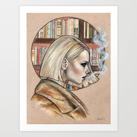 Margot Art Print by Wendy Ortiz