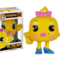 Pop! Games - Pac-Man - Ms. Pac-Man 82 Vinyl Figure (New)