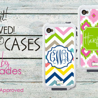 Monogrammed Lifeproof® Cases for your iPhone 4 and 5-Personalize Your own Customized Waterproof Lifeproof Case, Design Your Own monogram Lifeproof iphone Case | LipstickShades.com