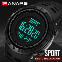 Sports Watch Men Digital Electronic Wrist Watch Military Waterproof LED Fitness Outdoor Watch For Running Chronograph Wristwatch
