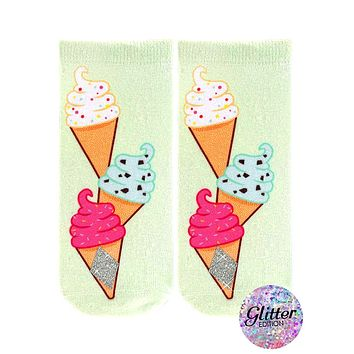 Ice Cream Chill Ankle Socks