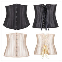 Sexy Body Shaper Waist Steel Boned Push Up Palace Slim Luxury Corset [4965318340]