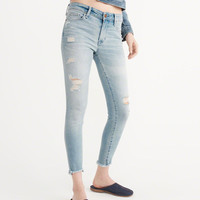 Womens Low-Rise Ankle Jeans | Womens New Arrivals | Abercrombie.com