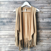 On The Fringe Vest