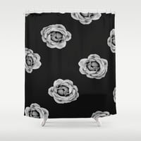 Multi Flower Shower Curtain by DuckyB (Brandi)