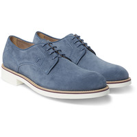 Tod's - Rubber-Soled Suede Derby Shoes | MR PORTER