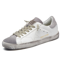 New Brand Designer 2017 Italy Golden Genuine leather Casual Men Trainers Goose All Sport Star Breathe Shoes Footwear Zapatillas