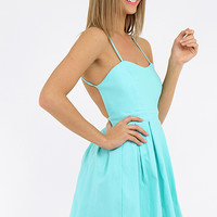 Lolly Dress - Aqua