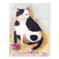 HERE KITTY KITTY CANVAS