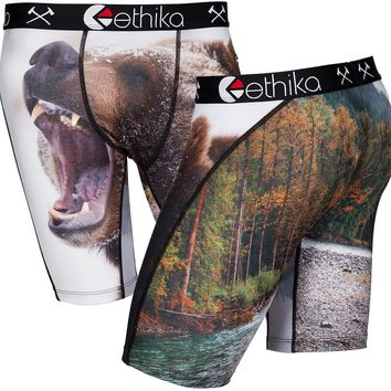 Ethika Staple Bear Creek Boxer Brief - brown - Men's Clothing > Accessories > Boxers