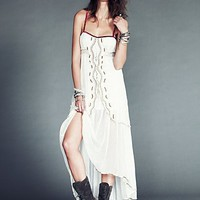 Free People Womens Gianna's Limited Edition Dress - Ivory