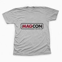 magcon tour TShirt Tee Shirts For Men and women with variant color for Unisex Size