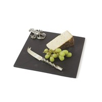 Scarlet Cheese Platter and Knife Set