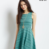 Aeropostale  Circle-Back Geo Dress