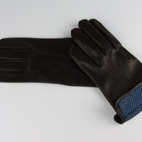 Merola Black Nappa Leather Gloves